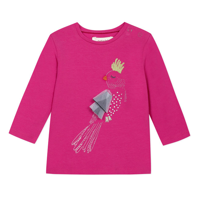 CATIMINI Baby girl's T-shirt with 3D motif