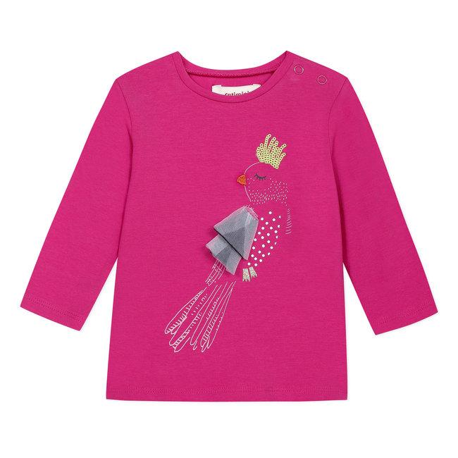 CATIMINI Baby girl's T-shirt with 3D motif