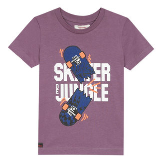 Boy's T-shirt with skate motif