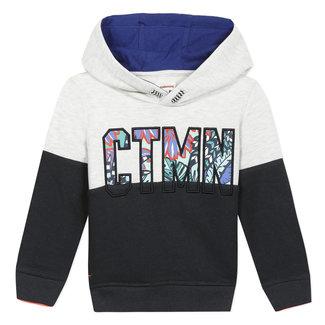 CATIMINI Boy's fleece logo sweatshirt