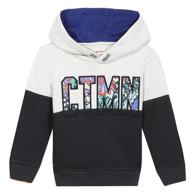 CATIMINI Boy's fleece logo sweatshirt