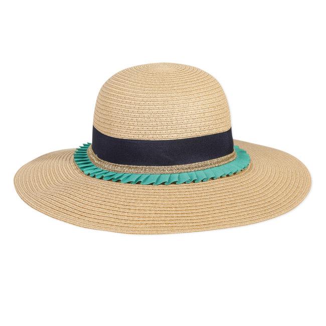 CATIMINI Girl's straw hat with hatband