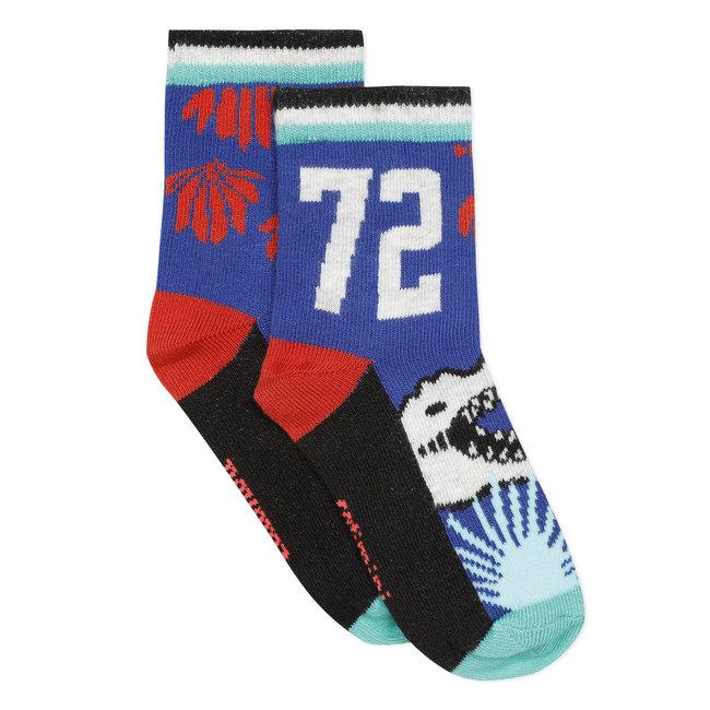 Boy's jacquard socks