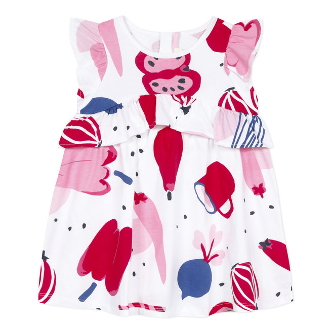 Baby girl's printed jersey dress