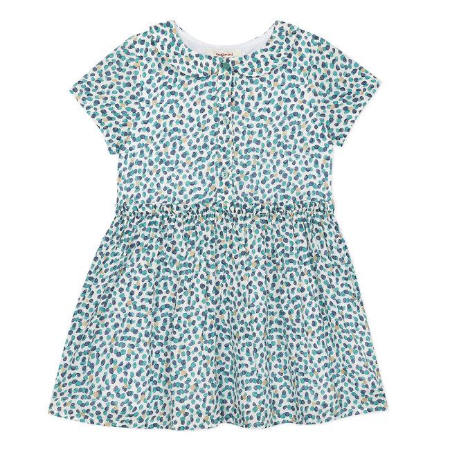 Girl's printed viscose dress