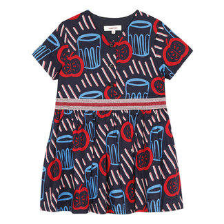 CATIMINI Girl's printed voile smock dress