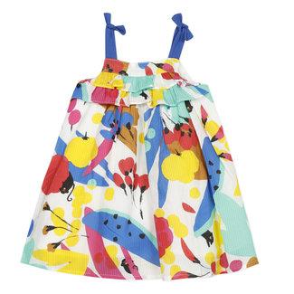 CATIMINI Baby girl's fancy printed percale sun skirt
