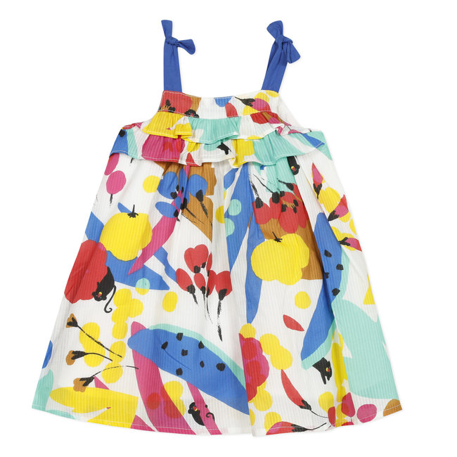 CATIMINI Baby girl's fancy printed percale sun skirt
