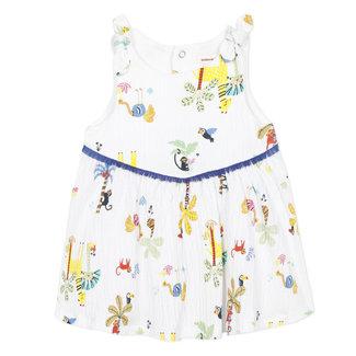 Baby girl's crepe dress