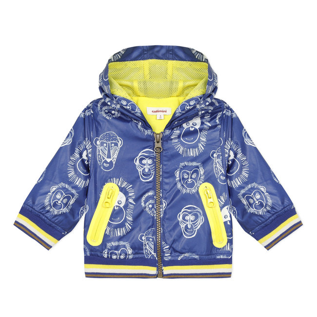 CATIMINI Baby boy's coated printed windcheater blouson