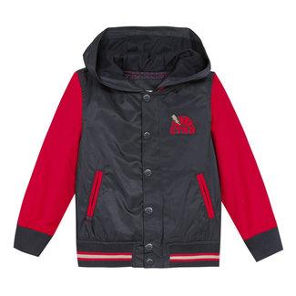 CATIMINI Boy's two-tone coated blouson jacket