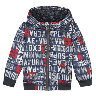 Child boy's light puffer jacket