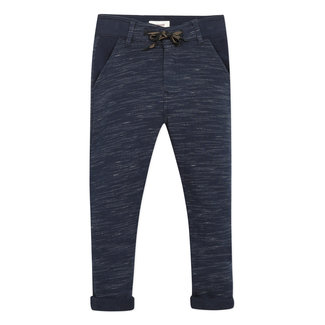 Boy's striped-effect fleece neo-joggers