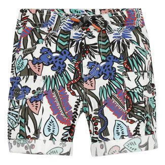 Baby boy's printed poplin Bermuda shorts