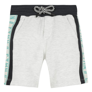 Boy's fleece Bermuda shorts with bands