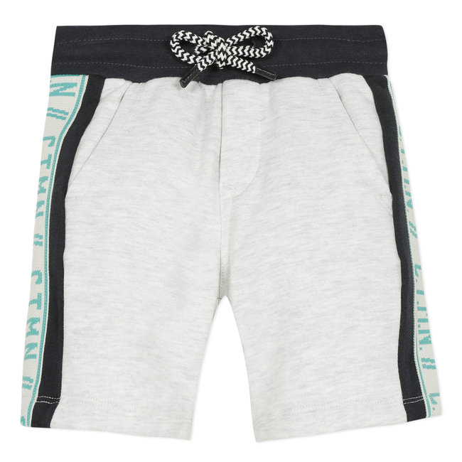 Boy's fleece Bermuda shorts with bands