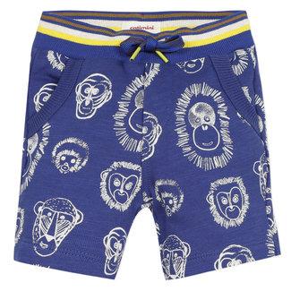 Baby-boy's printed fleece Bermuda shorts