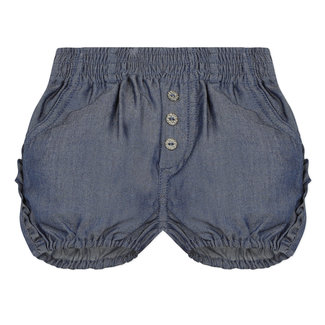 Baby girl's ruffled Tencel bubble shorts