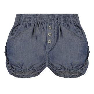 CATIMINI Baby girl's ruffled Tencel bubble shorts
