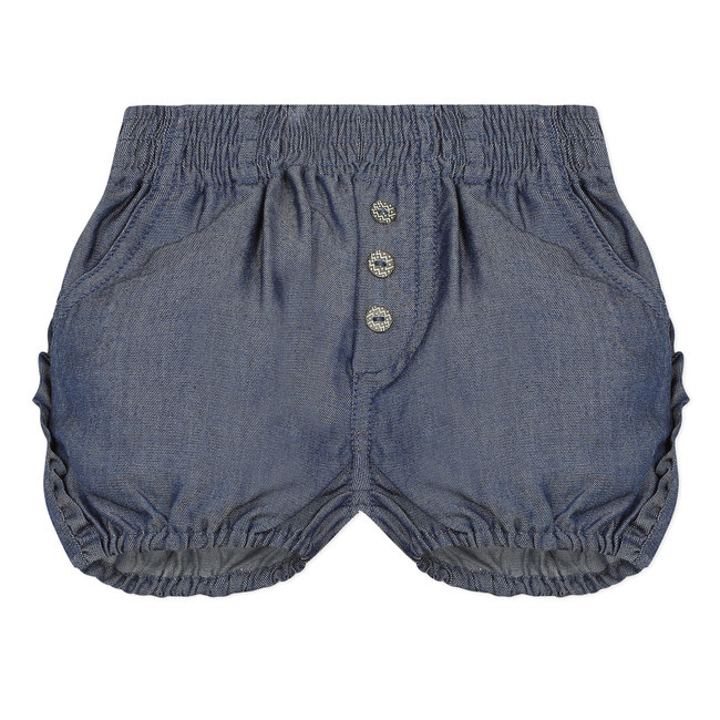 CATIMINI Baby girl's ruffled Tencel bubble shorts