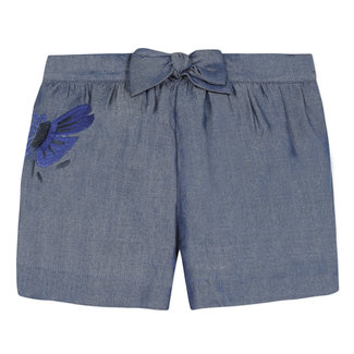 Girl's Tencel shorts with bow