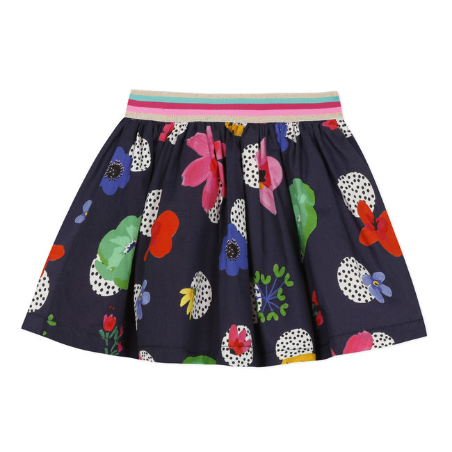 Baby girl's printed percale skirt