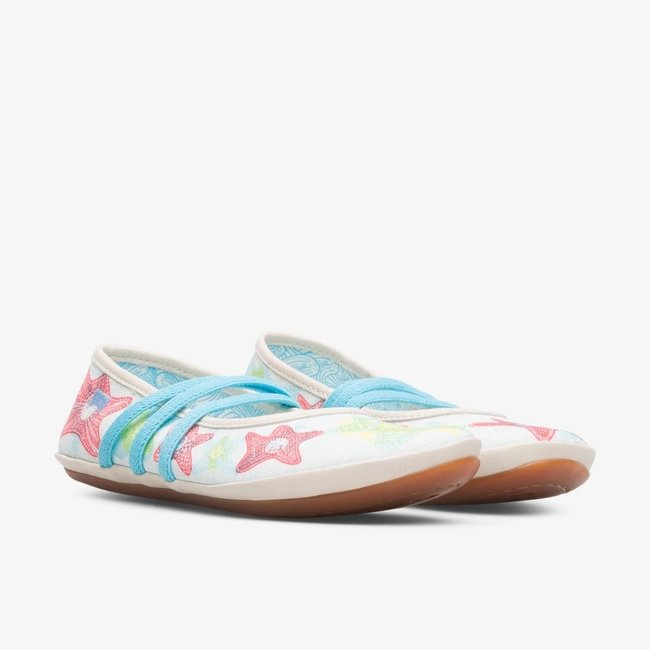 Twins Ballet Flats (Multi-colored)