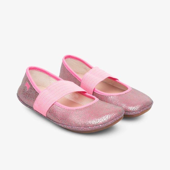 CAMPER Right Classic Ballet Flats (Pink)