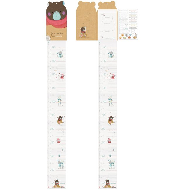 Moulin Roty Jolis Trop Beaux fold-up height chart