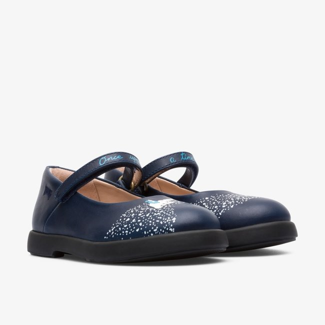 CAMPER Twins Ballerinas (Blue)