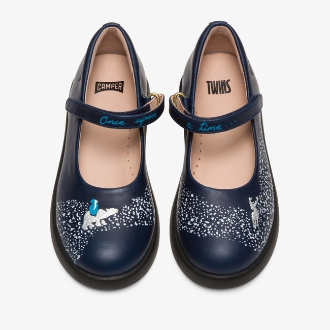 Twins Ballerinas (Blue)