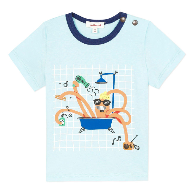 Baby boy's T-shirt with motif