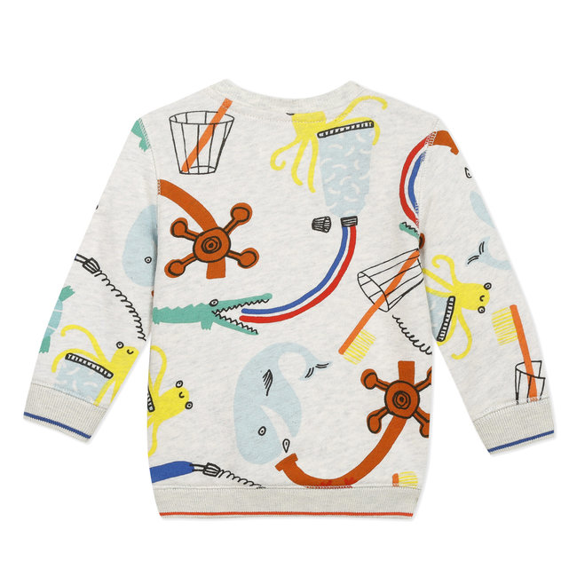 Baby boy's printed sweatshirt