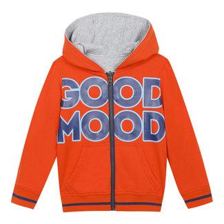 CATIMINI Boy's reversible zipped sweatshirt