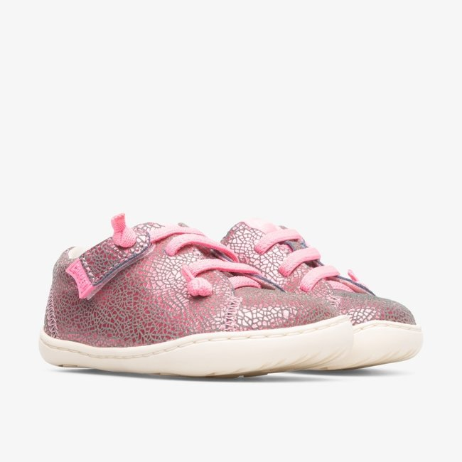 CAMPER Peu First Walker (Shining Pink)