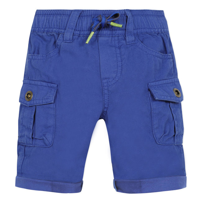 CATIMINI Baby boy's Klein blue twill multi-pocket Bermuda shorts
