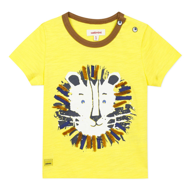 CATIMINI Baby boy's T-shirt with lion motif