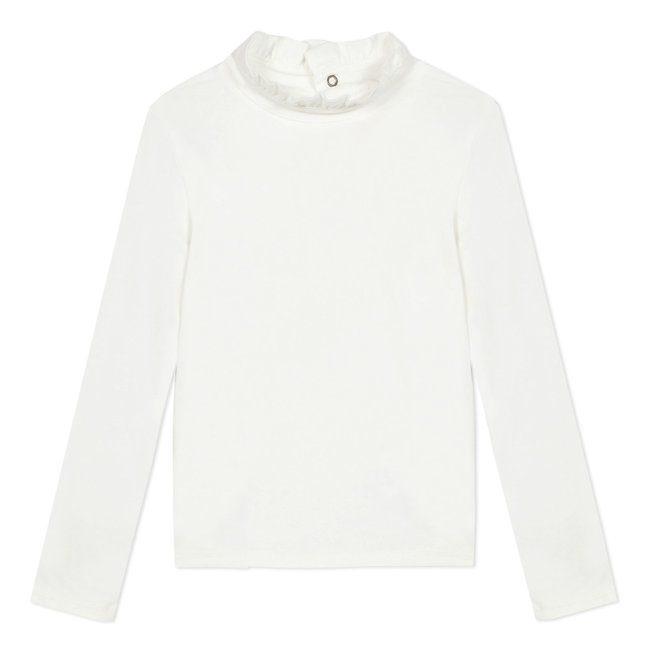 Snow white modal cotton T-shirt