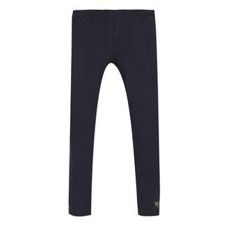 Plain midnight blue leggings
