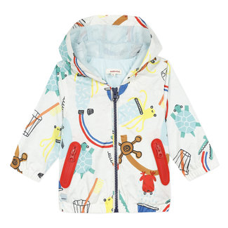 CATIMINI Baby boy's coated printed blouson
