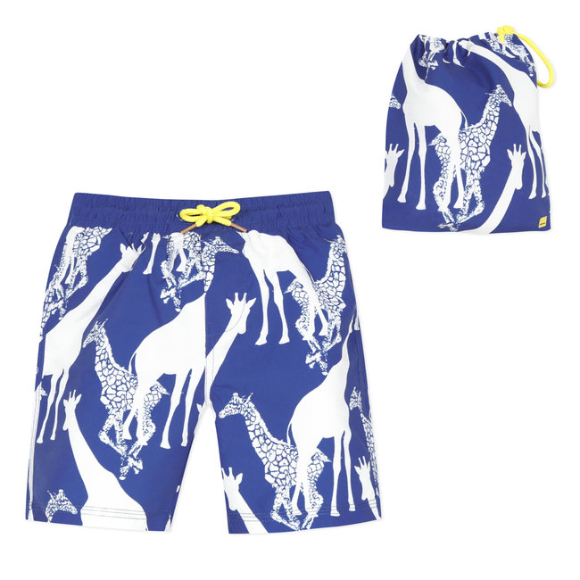 CATIMINI Boy's printed swim shorts