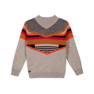 CATIMINI Boys' knit jacquard jumper
