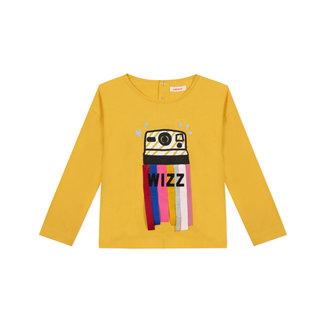 Girl's 3D motif jersey T-shirt