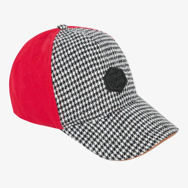 Boys' wool twill cap
