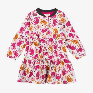 CATIMINI Baby girls' marled twill shirt dress