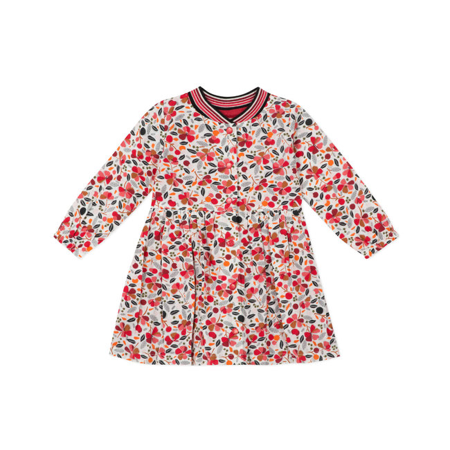 Baby girls' printed washed cotton dress