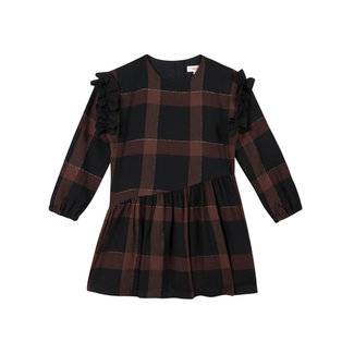CATIMINI Girls' check twill dress