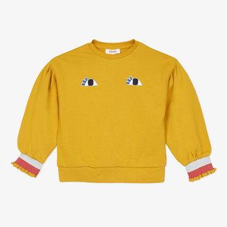 Girls' fleece sweatshirt