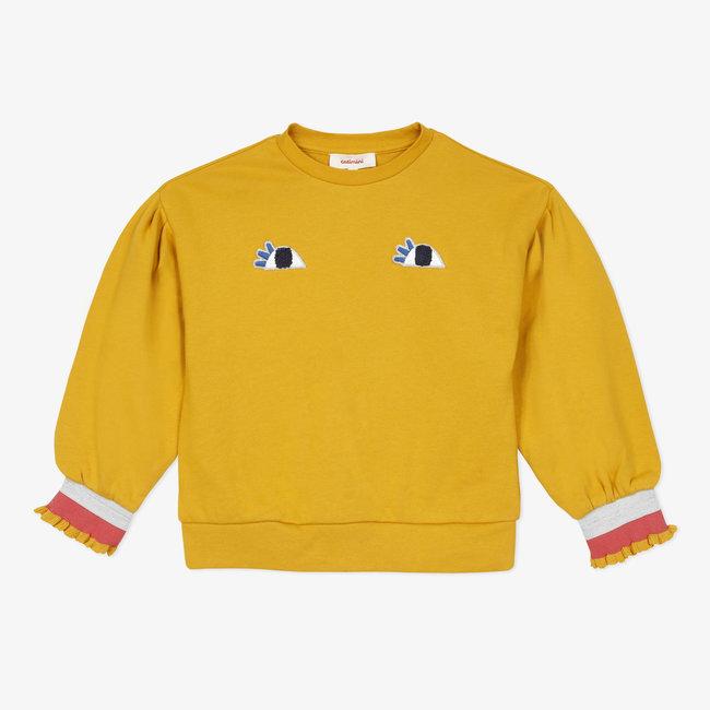 CATIMINI Girls' fleece sweatshirt