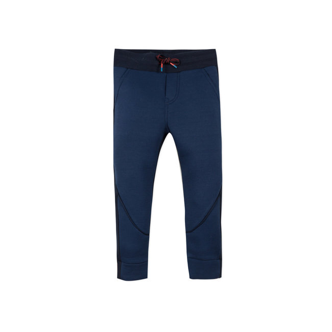 CATIMINI Boys' two-tone pique knit neo-joggers